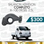 BALANCÍN ADMISIÓN H-100 DIESEL 2.5L