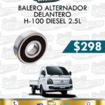 BALERO ALTERNADOR DELANTERO H-100 DIESEL 2.5L