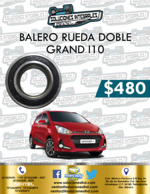 BALERO RUEDA DOBLE GRAND I10 1.2L