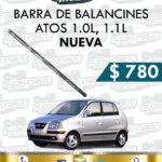 BARRA BALANCINES ATOS 1.0L – 1.1L