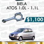 BIELA MOTOR ATOS 1.0L-1.1L