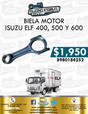 BIELA MOTOR ISUZU ELF 400, 500 Y 600