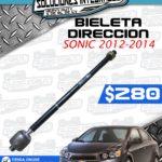 BIELETA DIRECCIÓN SONIC 2012-2014