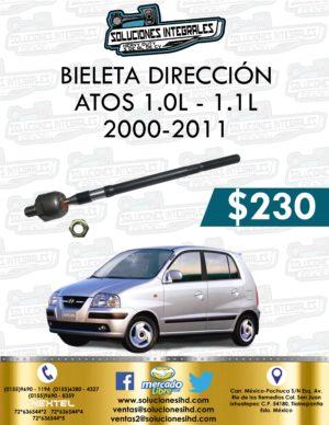BIELETA DIRECCIÓN ATOS 1.0L – 1.1L