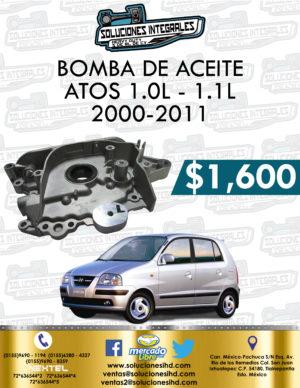 BOMBA ACEITE ATOS 1.0L – 1.1L