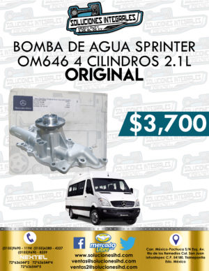 BOMBA AGUA SPRINTER OM646