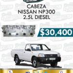 CABEZA MOTOR NISSAN NP300 2.5L DIESEL