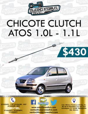 CHICOTE CLUTCH ATOS 1.0L-1.1L