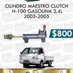 CILINDRO MAESTRO CLUTCH H-100 GASOLINA 2.4L