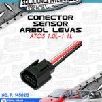 CONECTOR SENSOR ARBOL LEVAS ATOS 1.0L-1.1L