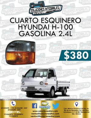 CUARTO ESQUINERO H-100 GASOLINA 2.4L