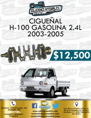 CIGUEÑAL H-100 GASOLINA 2.4L