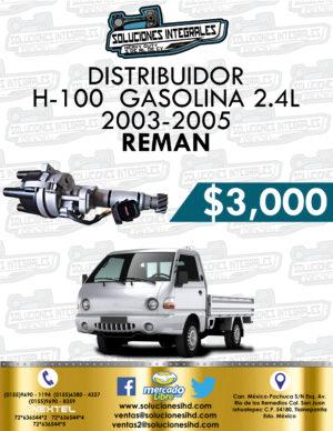 DISTRIBUIDOR REMAN H-100 GASOLINA 2.4L