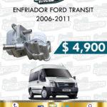 ENFRIADOR FORD TRANSIT 2.2L 2006-2011