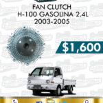 FAN CLUTCH H-100 GASOLINA 2.4L