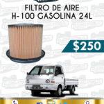 FILTRO AIRE H-100 GASOLINA 2.4L