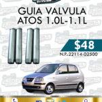 GUIA VALVULA ATOS 1.0L-1.1L