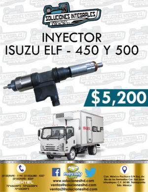 INYECTOR ISUZU ELF 450 Y 500