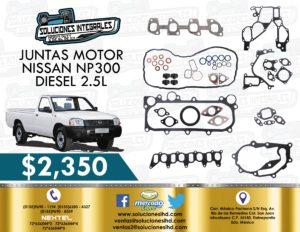 JUNTAS MOTOR NISSAN NP300 2.5L DIESEL