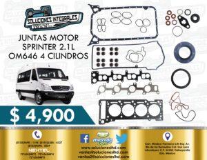 JUNTAS MOTOR SPRINTER OM646