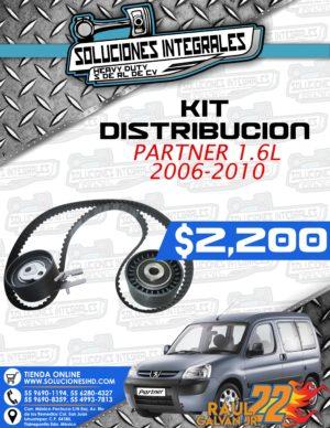 KIT DISTRIBUCIÓN PARTNER 1.6L 2006-2010