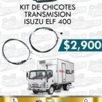 KIT CHICOTES TRANSMISIÓN ISUZU ELF 400