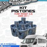 KIT PISTONES FORD TRANSIT 2.2L 2006-2011