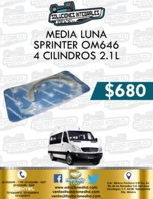 MEDIA LUNA SPRINTER OM646 4 CILINDROS