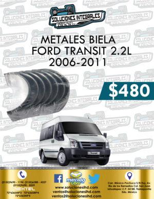 METALES BIELA FORD TRANSIT 2.2L 2006-2011