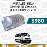 METALES BIELA SPRINTER OM646 4 CILINDROS