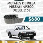 METALES BIELA NISSAN NP300 2.5L DIESEL