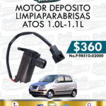 MOTOR DEPOSITO LIMPIAPARABRISAS ATOS 1.0L-1.1L