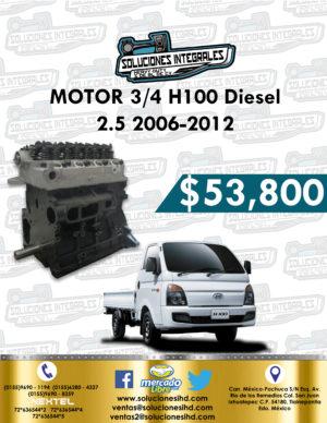 MOTOR 3/4 H100 DIESEL 2.5L