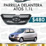 PARRILLA DELANTERA ATOS 1.1L
