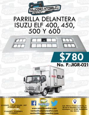 PARRILLA DELANTERA ISUZU ELF 400, 450, 500 Y 600