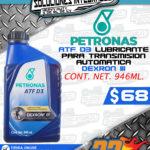 PETRONAS LUBRICANTE PARA TRANSMISIÓN AUTOMÁTICA DEXRON III