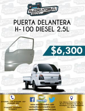 PUERTA DELANTERA DER. O IZQ. H-100 DIESEL 2.5L