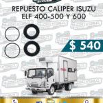 REPUESTO CALIPER ISUZU ELF 400, 500 Y 600