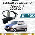 SENSOR OXIGENO ATOS 1.1L 2005-2011