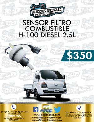 SENSOR FILTRO COMBUSTIBLE H-100 DIESEL 2.5L