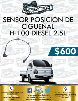 SENSOR POSICIÓN CIGUEÑAL H-100 DIESEL 2.5L
