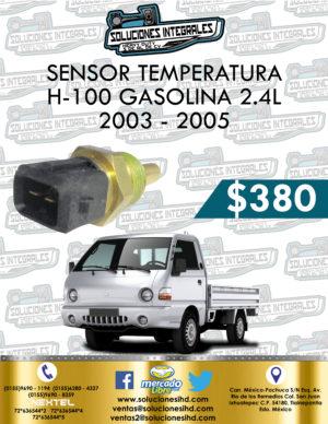 SENSOR TEMPERATURA H-100 GASOLINA 2.4L