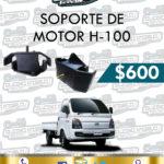 SOPORTE MOTOR H100 DIESEL 2.5L