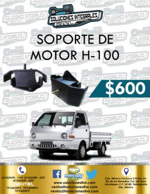 SOPORTE MOTOR H-100 GASOLINA 2.4L