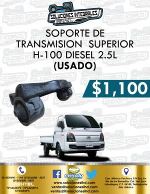 SOPORTE TRANSMISIÓN SUPERIOR USADO H100 DIESEL 2.5L