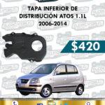TAPA INFERIOR DISTRIBUCIÓN ATOS 1.1L