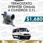 TERMOSTATO SPRINTER OM646 4 CILINDROS