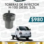 TOBERAS INYECTOR H100 DIESEL 2.5L