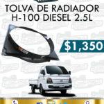 TOLVA RADIADOR H100 DIESEL 2.5L