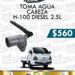 TOMA AGUA CABEZA H100 DIESEL 2.5L